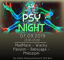 Party Flyer Psy Night 7 Sep '19, 23:00