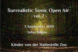 Party Flyer Surrealistic Sonic Open Air Vol. 2 7 Sep '19, 21:00