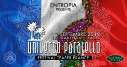 Party Flyer UNIVERSO PARALELLO FESTIVAL TEASER FRANCE 13 Sep '19, 23:30
