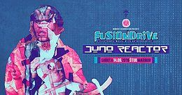 Party Flyer FusionDrive with Juno Reactor 14 Sep '19, 22:00