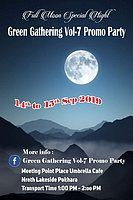 Party Flyer Green Gathering Vol-7 Promo Party 14 Sep '19, 01:00