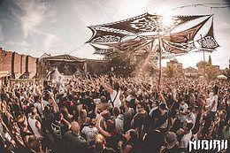 Party Flyer Nibirii Sun Open Air Closing: Necmi (iDirty), Parra Nebula, uvm. 14 Sep '19, 15:00