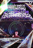 Party Flyer PsyTrance Sunday at GLOW w/ Alphatrance 15 Sep '19, 21:30