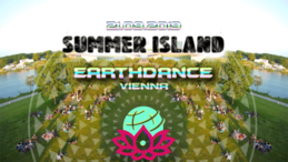 Party Flyer Earthdance Vienna - Summerisland 21 Sep '19, 14:00