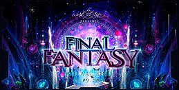 """Party Flyer Final Fantasy """"WE ARE ONE"""" w. SpaceNoiZe/Vibe Tribe/Space Cat 21 Sep '19, 22:00"""