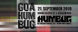 Party Flyer Goa Humbug 21 Sep '19, 23:30