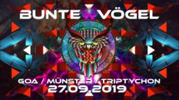 Party Flyer Bunte Vögel 27 Sep '19, 23:00