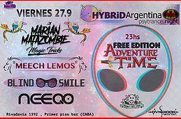 Party Flyer Freepa at PPB // Hybrid Argentina // Psytrance 27.9.19 27 Sep '19, 23:00