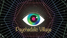 Party Flyer Psychedelic Village /w. Benni Moon, Ismir, Chorea Lux 28 Sep '19, 23:00