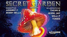Party Flyer SECRET GARDEN 28 Sep '19, 23:00