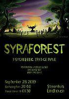 Party Flyer Syraforest I 28 Sep '19, 20:00