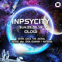 Party Flyer Inpsycity Sunday at GLOW ! 29 Sep '19, 21:30