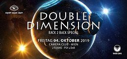 Party Flyer Double Dimension - b2b Special 4 Oct '19, 23:00