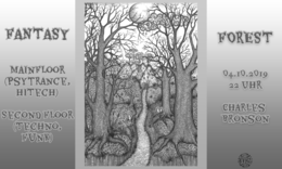 Party Flyer Fantasy Forest 4 Oct '19, 22:00