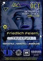 Party Flyer Friedlich Feiern 4 Oct '19, 23:00