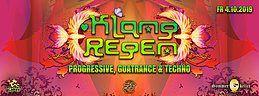 Party Flyer Klangregen **SpinTwist special** Fabio Fusco & Phaxe 4 Oct '19, 22:00