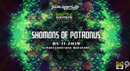 Party Flyer Shamans of Patronus 5 Oct '19, 22:00
