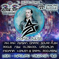Party Flyer Atomic Pulse (Israel) in Buenos Aires 11 Oct '19, 23:30