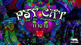 Party Flyer Psy Cat 11 Oct '19, 23:00