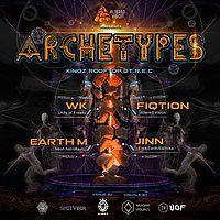 Party Flyer Altered Vision pres: Archetypes 12 Oct '19, 22:00