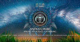 Party Flyer Andean Tribe Spring Gathering 12 Oct '19, 14:00