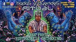 Party Flyer Hadas & Duendes Ritual at Sacred Valley - October 12 & 13 12 Oct '19, 14:00