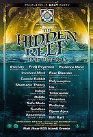 Party Flyer Hidden Reef Boat party 12 Oct '19, 12:00
