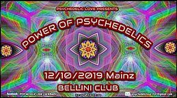 Party Flyer Power of Psychedelics 12 Oct '19, 22:00