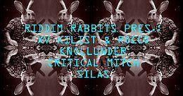 Party Flyer RIDDIM RABBITS@HUMBUG 12 Oct '19, 22:00