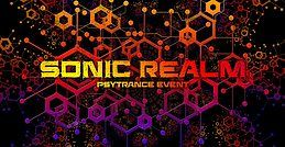Party Flyer Sonic Realm w/ Hashashin live (Belgium) 12 Oct '19, 21:00