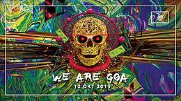 Party Flyer We are GOA w/ Interactive noise, Jilax uvm. 12 Oct '19, 23:00