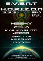 Party Flyer Event Horizon 19 Oct '19, 21:00