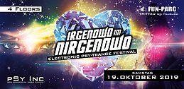 Party Flyer Irgendwo im Nirgendwo 2019 | Psy-Trance Festival 19 Oct '19, 22:00