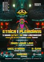 Party Flyer Liquid Love presents Etnica - Pleiadians Max 3 Hours set / Sat 19/10 19 Oct '19, 22:00