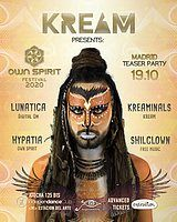 Party Flyer Own Spirit Festival 2020 Teaser Party by KREAM 19 Oct '19, 23:30