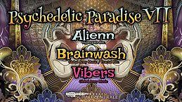 Party Flyer Psychedelic Paradise VII 19 Oct '19, 22:00