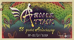 Party Flyer Groove Attack 10 Years Anniversary 20 Oct '19, 23:00