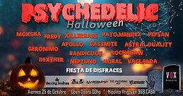 Party Flyer Psychedelic Halloween 25 Oct '19, 23:30