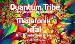 Party Flyer Quantum Tribe (journey into psytrance) 8 Nov '19, 23:00