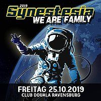 Party Flyer Synestesia - We Are Family 25 Oct '19, 22:00