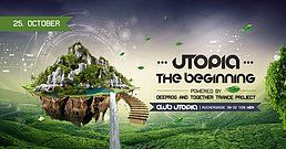 Party Flyer UTOPIA - The Beginning 25 Oct '19, 22:00