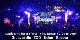 Party Flyer GROOVADELIC 26 Oct '19, 22:00