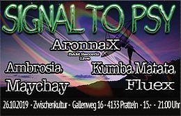 Party Flyer Signal to Psy 26 Oct '19, 21:00