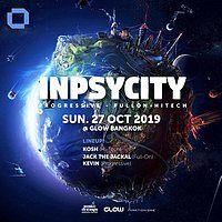 Party Flyer Inpsycity w/ Kosh, Jack the Jackal & Kevin ! 27 Oct '19, 21:30