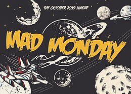 Party Flyer Mad Monday • presents Techno Aliens 28 Oct '19, 23:00