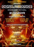 Party Flyer DUNAJTRANCE(Samhain ritual)w/HuGadam 31 Oct '19, 20:00