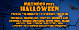 Party Flyer Full moon pres. Halloween 31 Oct '19, 22:00