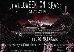 Party Flyer Halloween on Space 31 Oct '19, 23:00