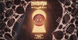 Party Flyer Nibirii Halloween: Mr. Black, Gourski uvm. im Helios37 31 Oct '19, 23:00