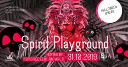 Party Flyer ✷ Spirit Playground ✷ Halloween Special 31 Oct '19, 22:00